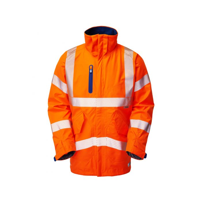 Marisco ISO 20471 Class 3 High Performance Waterproof Anorak Orange A20 O