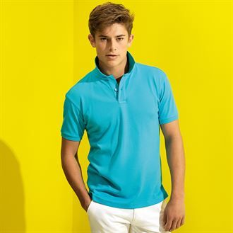 Men's super smooth knit polo