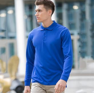 Long sleeve Coolplus® polo shirt