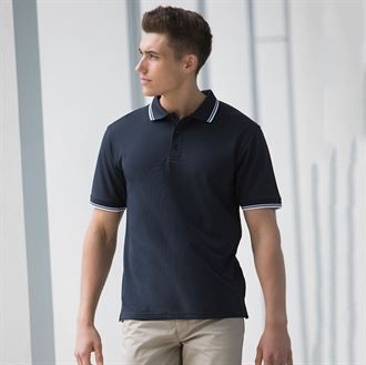 Double tipped Coolplus® polo shirt