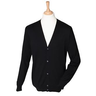 V-button cardigan