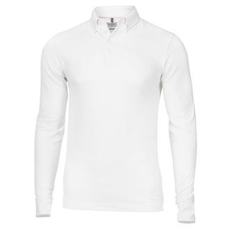 Carlington deluxe long sleeve polo