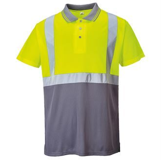Hi-vis two-tone polo shirt (S479)