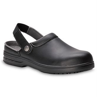 Steelite Safety Clog SB AE WRU Black