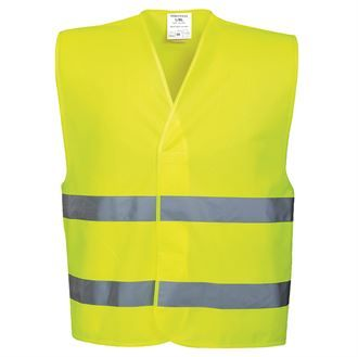 Hi-vis two-band vest (C474)