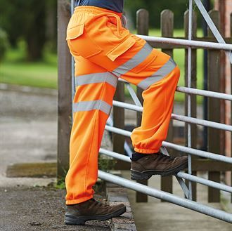 Hi-vis jogging pants (HV016T)
