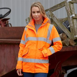 Women's hi-vis executive jacket (HVP189)