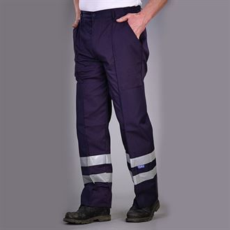 Reflective polycotton ballistic trousers (BS015T)