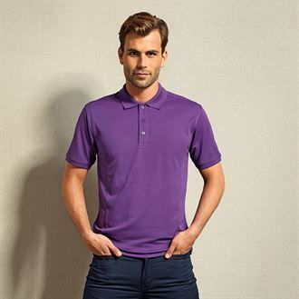 Coolchecker® plus piqué polo with CoolPlus®