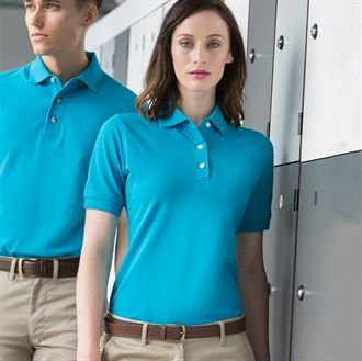 Women's classic cotton piqué polo shirt