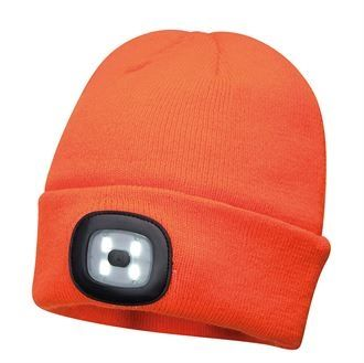 Beanie LED headlight USB