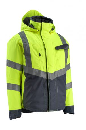 15535231 Hi Vis Jacket Hastings Yellow / Black