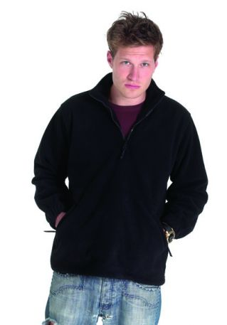 380GSM Premium 1/4 Zip Micro Fleece Jacket