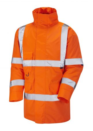 A01-O Tawstock Hi Vis Jacket Railway GO/RT Orange