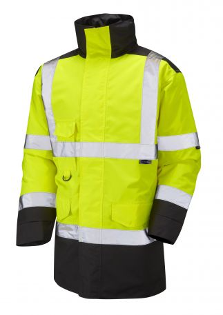 A01-Y/BK Tawstock Hi Vis Jacket Yellow / Black