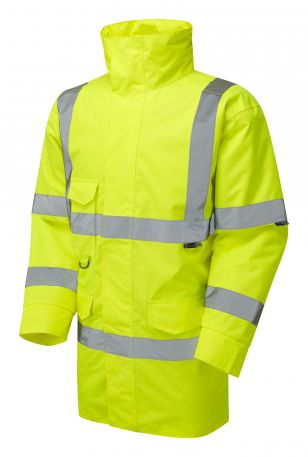 A01-Y Tawstock Hi Vis Jacket Yellow