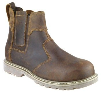 AMBLER CRAZY HORSE DEALER BOOT with VAT