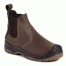 APACHE AP715SM DEALER SAFETY BOOT Brown VAT