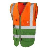 Lynton Superior Dual Colour Class 1 waistcoat (various colours)