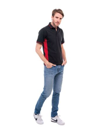 Two Tone Polo Shirt Polycotton 200gsm