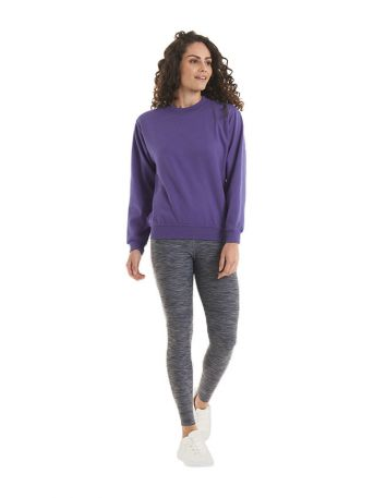 Ladies Deluxe Crew Neck Sweatshirt