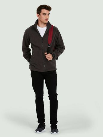 Full Zip Micro Premium Fleece Jacket 380GSM